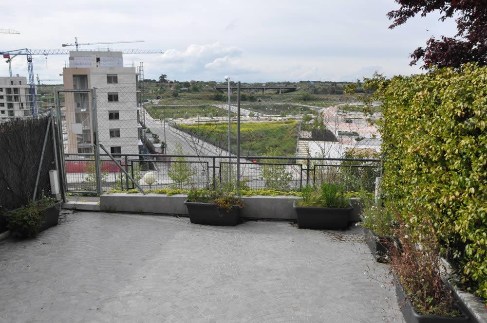 Imagen antes terraza Adosado Madrid