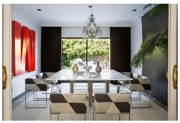 Comedor reformado en estilo moderno por Adirana Luengo