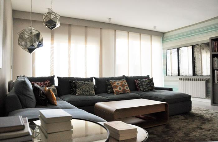 Imagen de una casa despues de haber realizado el Proyecto decoracion vivienda de Adriana Leungo