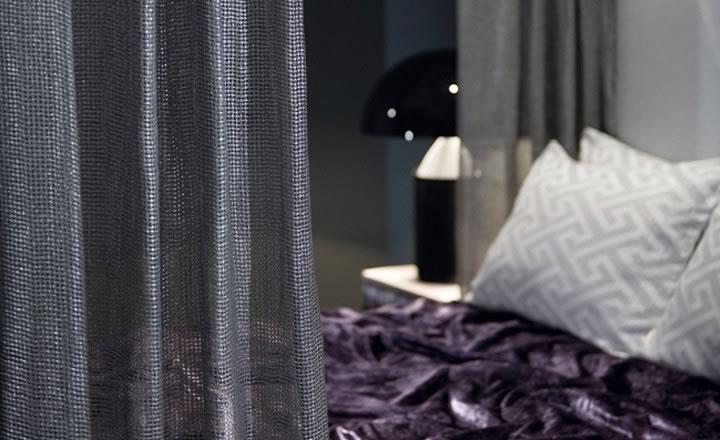 Zinc tejidos cama, cortina y cojines coleccion etesian
